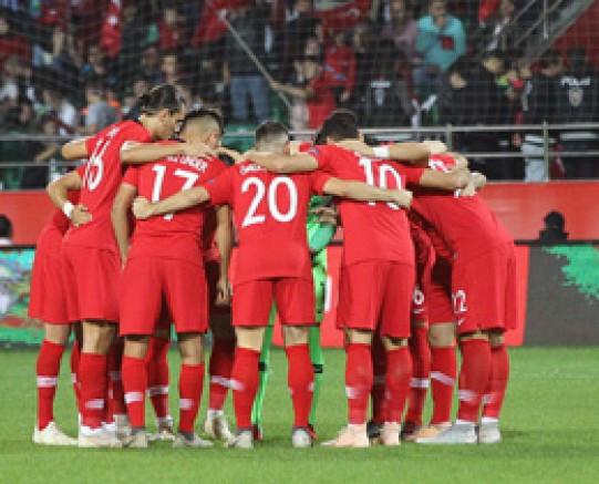 2022 FIFA Dünya Kupası Elemeleri Norveç-Türkiye maçı İspanya'da