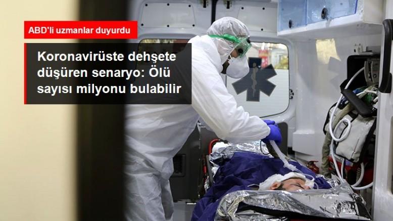 ABD için en kötü koronavirüs salgını senaryosu: 1,7 milyon kişi ölebilir