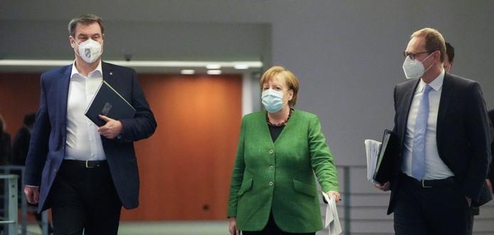 Almanya'da koronavirüs tedbirlerinin süresi 18 Nisan'a kadar uzatıldı