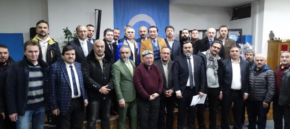 Almanya'da Türk STK'lardan Uygur Türklerine destek