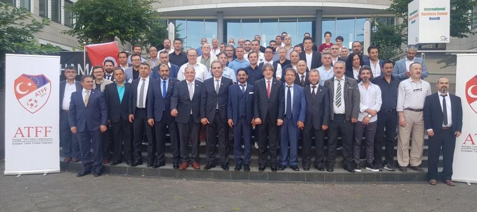 ATFF, Avrupa'da Türk Futbolu adına bir ilk
