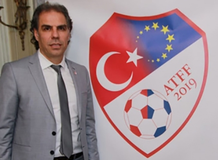ATFF- Avrupa Türk Futbol Federasyonu Resmen Kuruldu. Abdulkadir Bakırdöven Genel Başkan oldu.