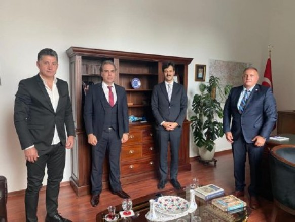 ATFF'den T.C. Köln Başkonsolosu Turhan Kaya'ya ziyaret