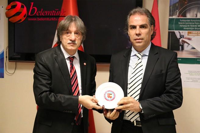 Belçika Türk Spor ve Kültür Federasyonu'ndan, Abdulkadir Bakırdöven'e Onur Ödülü