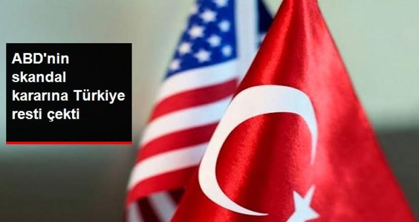 Dışişleri'nden ABD Senatosu'nun Türkiye'ye yaptırım kararına tepki