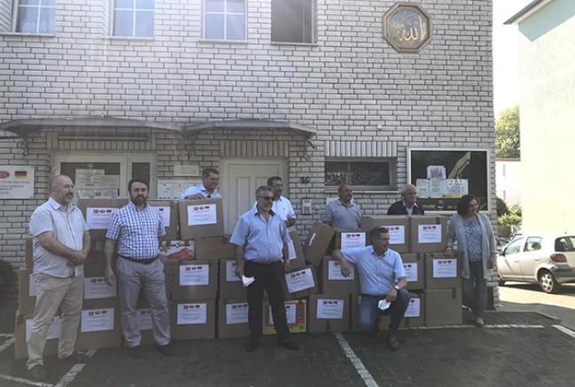 DİTİB camisinden mülteciler için yardım kampanyası