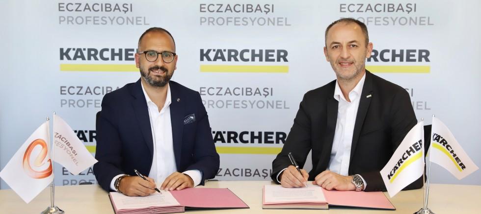 Eczacıbaşı Profesyonel ve Kärcher'den işbirliği