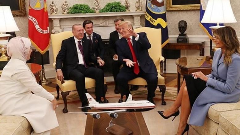 Erdoğan-Trump görüşmesini dünya böyle gördü !