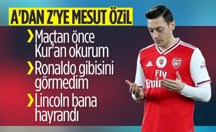 Mesut Özil hakkında tüm bilinmeyenler