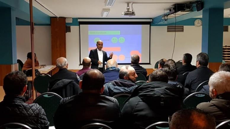 Dr. Ali Sak'ın,  kanser konferansı yogun ilgiyle karşılandı