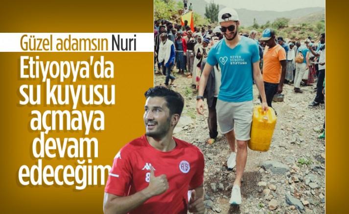Nuri Şahin: Etiyopya'da 30 bin kişiye temiz su sağlayacağız