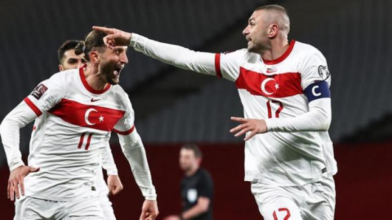 Türkiye A Milli Takımdan Müthiş Sonuç: TÜRKİYE 4 - HOLLANDA 2