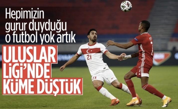 Türkiye, Uluslar Ligi'nde Macaristan'a yenildi