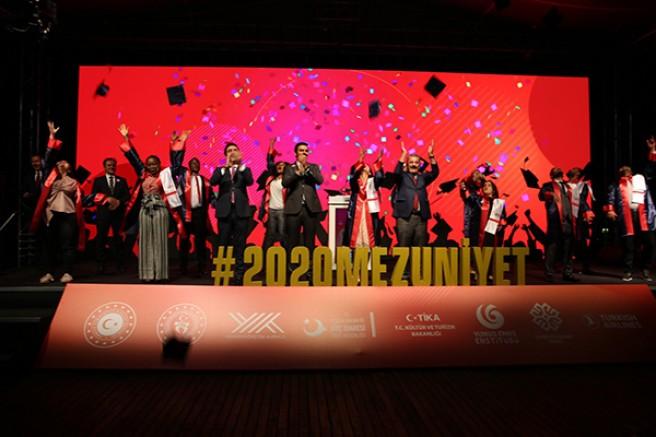 Uluslararası Öğrenciler Mezuniyet Töreni Gerçekleştirildi