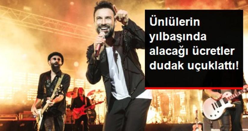 Ünlü sanatçıların yılbaşı konser ücretleri belli oldu!